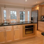 Kitchen with French Doors to Deck 280 Grovers