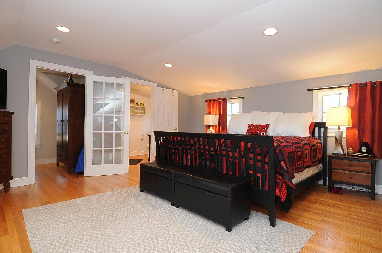 Just sold upscale renovation of nantucket style home with for Bedroom recessed lighting