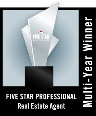 Gail Robinson Awarded Five Star Professional for 2018